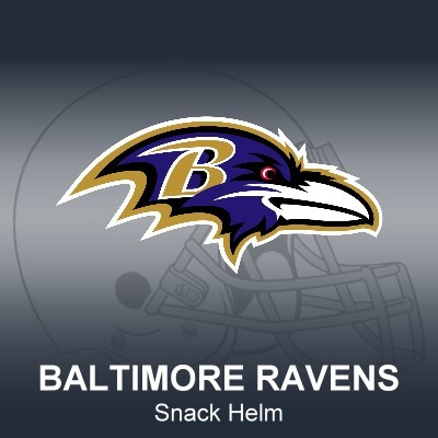 Baltimore Ravens Snack Helm