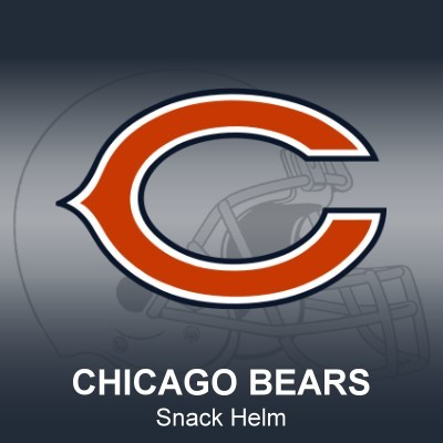 Chicago Bears Snack Helm