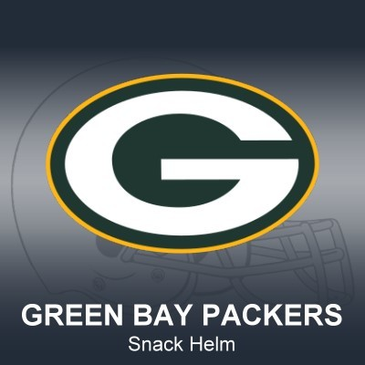 Green Bay Packers Snack Helm