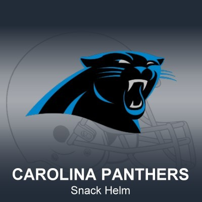 Carolina Panthers Snack Helm