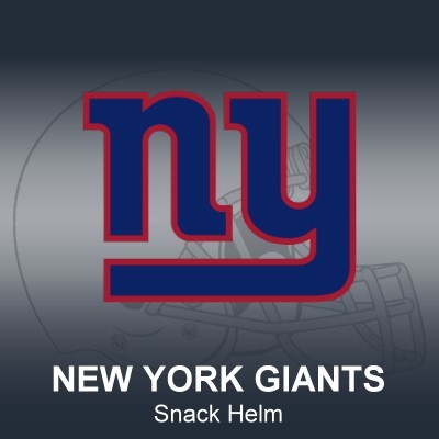 New York Giants Snack Helm