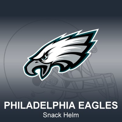 Philadelphia Eagles Snack Helm