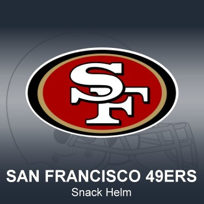 San Francisco 49ers Snack Helm