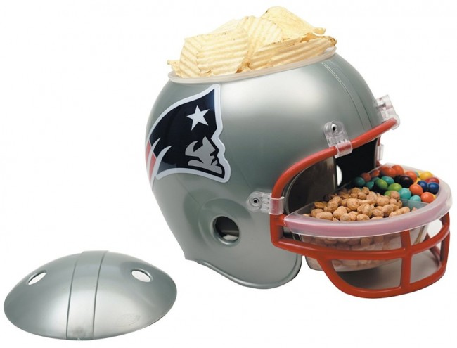 New England Patriots Snack Helm