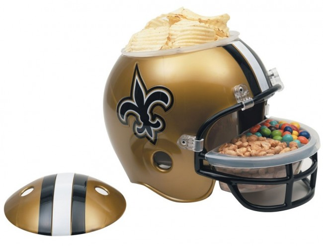 New Orleans Saints Snack Helm